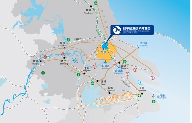 南京开往如皋的高铁动车在如皋哪里停?附近有什么公交